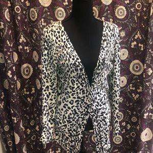 Cheetah print beautiful cardigan!!